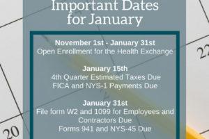 January Updates