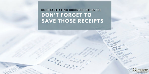 Substantiating Business Expenses