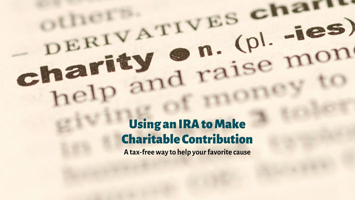 IRA to Make Charitable Contributions