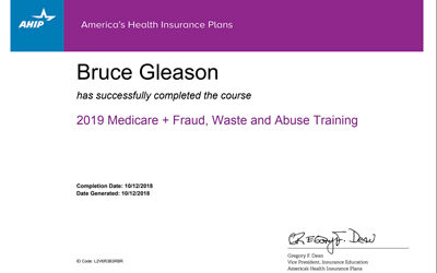 2019 Medicare Training