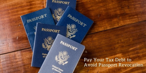 Passport may be relocated if you have tax debt