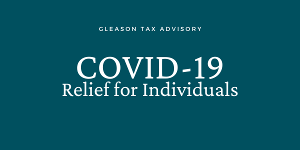 COVID-10 Relief for Individuals